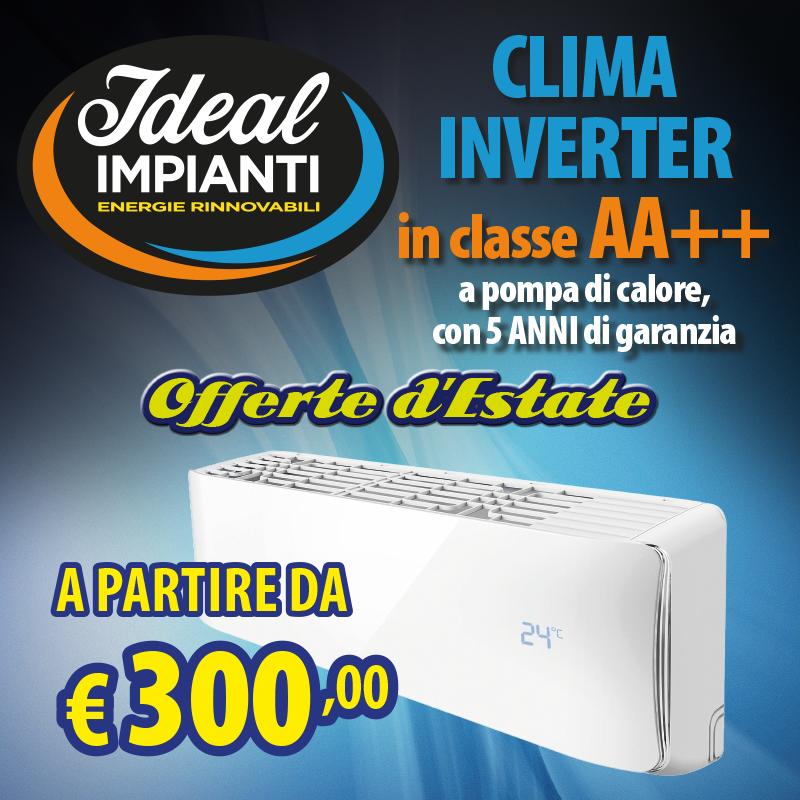Climatizzatori a partire da 300€, tutto incluso!